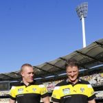 Damien Hardwick, Justin Leppitsch  Richmond Tigers