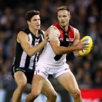 Collingwood, Jack Crisp, Nathan Brown, St Kilda