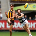 Geelong Cats, Hawthorn, James Parsons, Ryan Burton