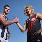 Collingwood, Dyson Heppell, Essendon, Scott Pendlebury