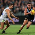 Aidyn Johnson, Carlton, Kade Simpson, Port Adelaide