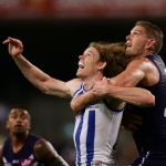 Aaron Sandilands, Ben Brown, Fremantle, North Melbourne