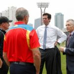 Bruce McAvaney, Gillon McLachlan, Gold Coast Suns, Marcus Ashcroft, Michael Voss, Port Adelaide