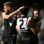 Jackson Trengove, Port Adelaide, Sam Gray, Sam Powell-Pepper