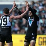 Chad Wingard, Matt White, Port Adelaide