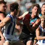 Brad Ebert, Declan Mountford, North Melbourne, Port Adelaide