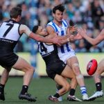 Brad Ebert, Jarman Impey, Matt White, North Melbourne, Port Adelaide, Robbie Tarrant