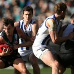 North Melbourne, Port Adelaide, Sam Powell-Pepper, Scott Thompson