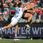 Jarman Impey, Lindsay Thomas, North Melbourne, Port Adelaide