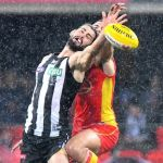 Brodie Grundy, Collingwood Magpies, Gold Coast Sun, Jarred Witts