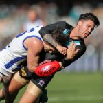 Chad Wingard, North Melbourne, Port Adelaide, Scott Thompson