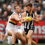 Adelaide Crows, Collingwood, Daniel Talia, Tom Phillips