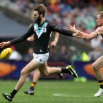 Adelaide Crows, Alex Keath, Justin Westhoff, Port Adelaide