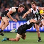 Brad Ebert, Chad Wingard, Collingwood, Port Adelaide, Taylor Adams