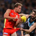 Gold Coast Suns, Justin Westhoff, Port Adelaide, Will Brodie
