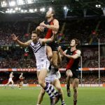 Essendon, Fremantle, Jonathon Griffin, Matt Taberner, Michael Hartley, Tom Bellchambers