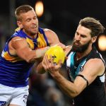 Justin Westhoff, Mark LeCras, Port Adelaide, West Coast Eagles
