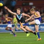 Ollie Wines, Port Adelaide, Sam Mitchell, West Coast Eagles