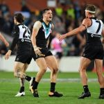 Brad Ebert, Port Adelaide, Sam Powell-Pepper