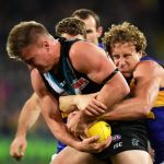 Matt Priddis, Ollie Wines, Port Adelaide, West Coast Eagles