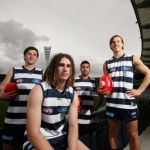 Charlie Constable, Geelong Cats, Gryan Miers, Lachie Fogarty, Tim Kelly