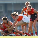 GWS Giants, Katherine Smith, Melbourne, Rebecca Privitelli