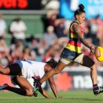 Adelaide Crows, Brisbane Lions, Sabrina Frederick-Traub, Stevie-Lee Thompson