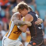 Brisbane Lions, GWS Giants, Lachie Whitfield, Mitch Robinson