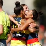 Adelaide Crows, Jenna McCormick, Justine Mules, Stevie-Lee Thompson