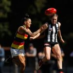 Adelaide Crows, Caitlyn Edwards, Collingwood, Stevie-Lee Thompson