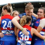 Angelica Gogos, Bonnie Toogood, Paul Groves, Western Bulldogs