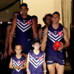 Aaron Sandilands, Fremantle, Nat Fyfe