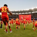 Aaron Hall, Gold Coast Suns