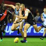 David Zaharakis, Essendon, Port Adelaide, Tom Jonas