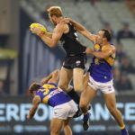 Andrew Phillips, Carlton, Mark Hutchings, Shannon Hurn, West Coast Eagles