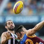 Brodie Grundy ; Collingwood Magpies  Stefan Martin ; Brisbane Lions