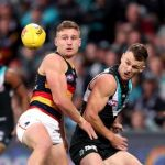 Adelaide Crows, Port Adelaide, Robbie Gray, Rory Laird