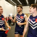 Connor Blakely, Ed Langdon, Fremantle, Lachie Neale