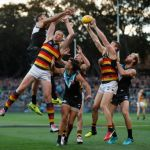 Adelaide Crows, Jack Hombsch, Josh Jenkins, Paddy Ryder, Port Adelaide, Riley Bonner, Sam Jacobs, Tom Lynch