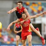 Aaron Young, Gold Coast Suns, Jake Lever, Melbourne