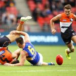 Dylan Shiel, Elliot Yeo, GWS Giants, West Coast Eagles, Zac Langdon