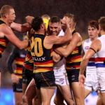 Adelaide Crows, Jordan Roughead, Sam Gibson, Western Bulldogs