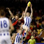 Ben Brown, Brendon Goddard, Essendon, North Melbourne