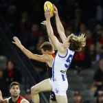 Ben Brown, Cale Hooker, Essendon, North Melbourne