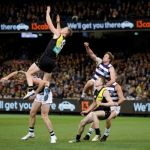 Geelong Cats, Jack Riewoldt, Jacob Townsend, Jed Bews, Mark Blicavs, Richmond