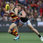 Adelaide Crows, Matt Crouch, Ollie Wines, Port Adelaide