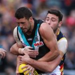 Adelaide Crows, Port Adelaide, Rory Atkins, Travis Boak