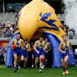 Luke Shuey, Mark LeCras, Shannon Hurn, West Coast Eagles