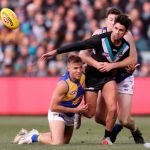 Brad Sheppard, Chad Wingard, Jeremy McGovern, Port Adelaide, West Coast Eagles