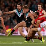 Essendon, Kyle Langford, Ollie Wines, Port Adelaide